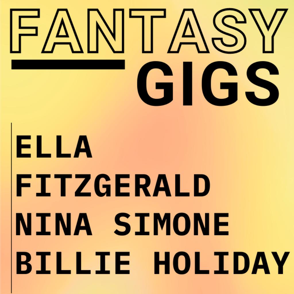 Fantasy Gigs Jazz Divas Live